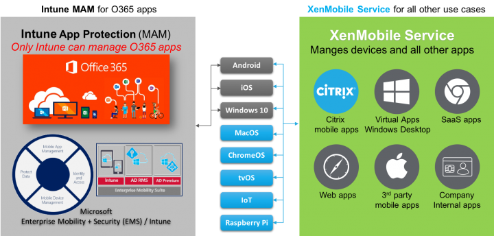 Architectural overview (Source Citrix)