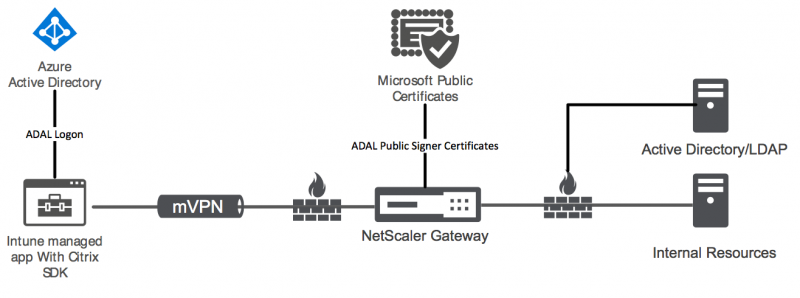 Overview Citrix Gateway for micro VPN